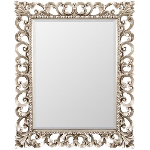 Зеркало настенное в резной раме Bristol Silver (Бристоль) Art-zerkalo