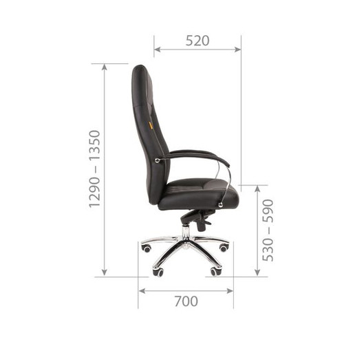 Элегантная классика новой волны. Кресло, столь же эффектное и гармоничное, сколь и удобное. Почти как в премиальном авто - только лучше