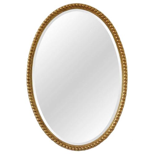 Зеркало овальное настенное в раме Globo Gold (Глобо) Art-zerkalo