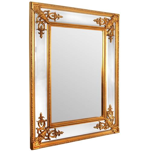 Зеркало настенное в раме Lord Gold (Лорд) Art-zerkalo