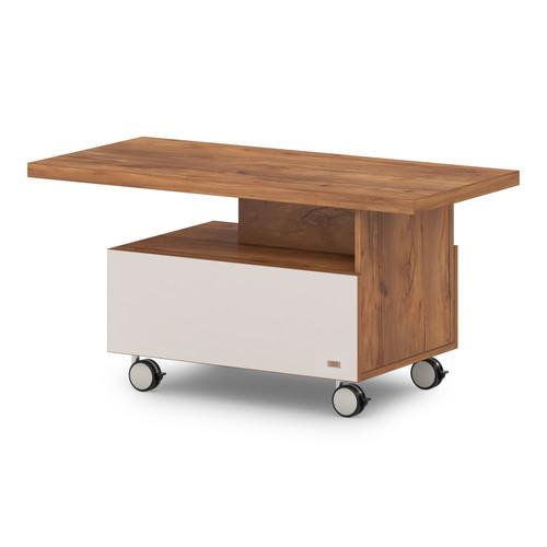 Журнальный стол  T-315-766 (1150x550x570)  Lavana Supreme , Таксония медовая и Бежевый песок