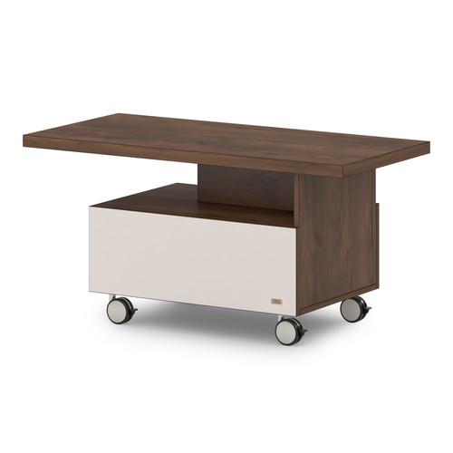 Журнальный стол  T-315-777 (1150x550x570)  Lavana Supreme , Таксония темная и Бежевый песок